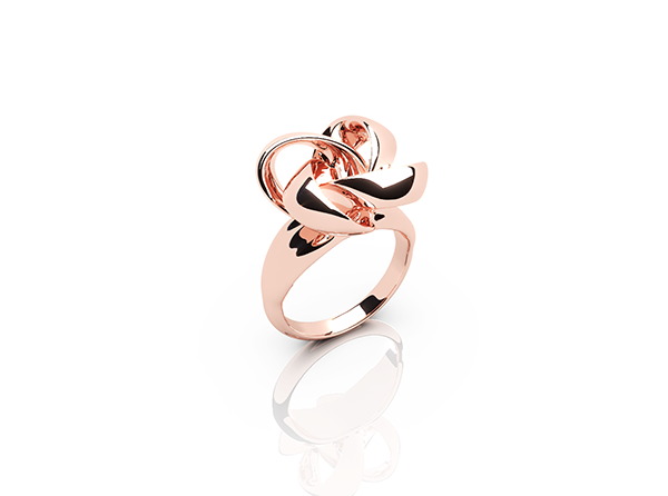 Knot rose gold