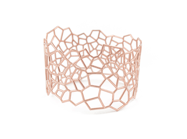 Voronoi Red Gold
