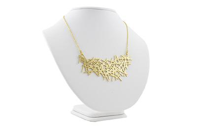Lines Necklace 18 karat gold
